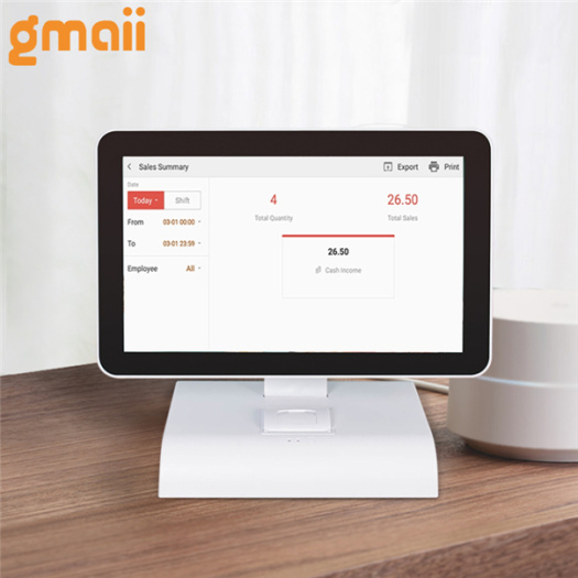 Android Restaurant Offline Pos Machine System Stand
