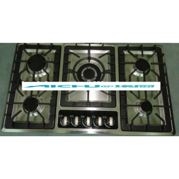 Built-In 5 Burner Cooktop Gas Hob