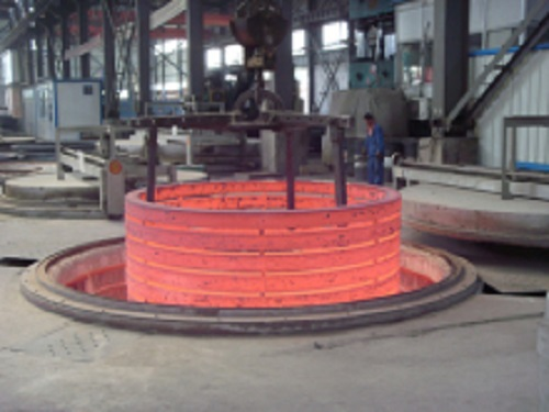 Flange Ring Forging Furnace