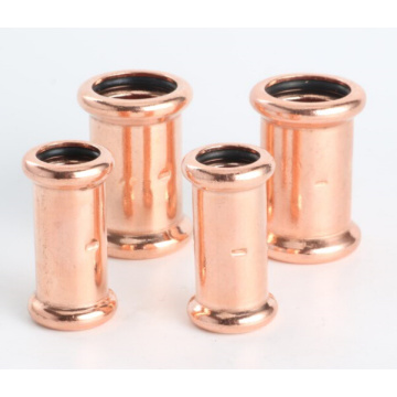 Copper M-profile coupling for water and gas