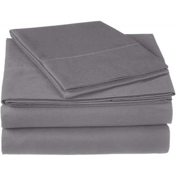 Wholesale 4PCS Cotton Saten 300TC Bedding Sheet Set