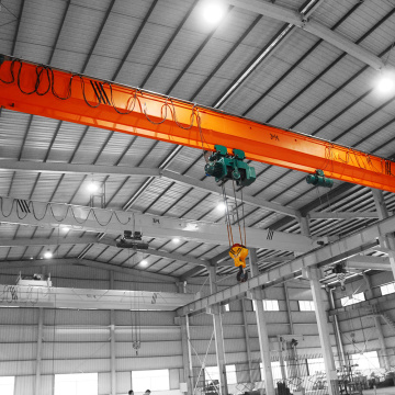 Customized 3ton single beam overhead crane workshop use