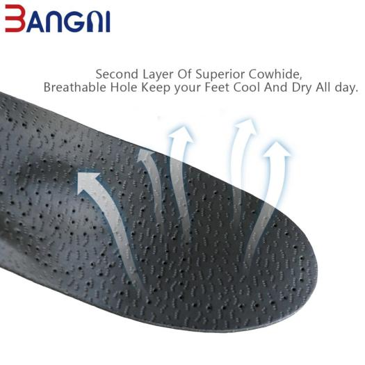 Sheepskin genuine leather insole orthotic heel support pad
