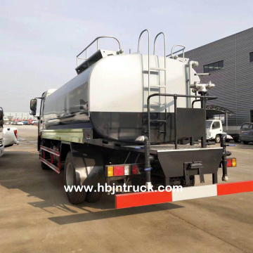 Foton 15000 Liters Stainless Steel Water Tank Truck
