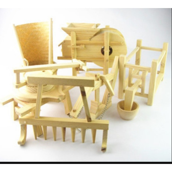 Bamboo Waterwheel Children's Toys