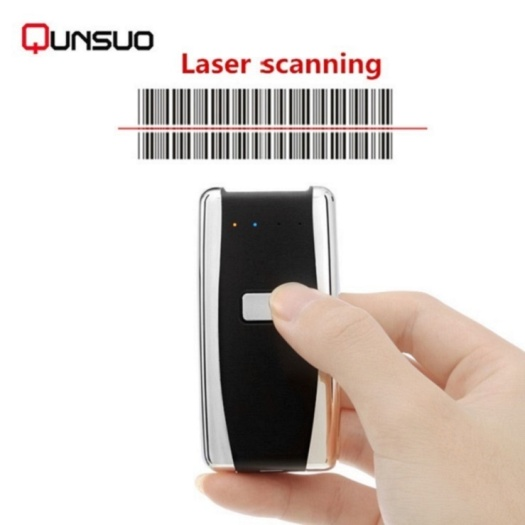 Portable Bluetooth CCD barcode canner wireless