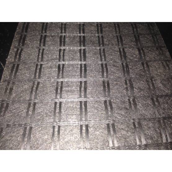 Engineering Polyester Geogrid Knitted Geocomposites