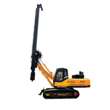 Crawler square rotary pile digger is on sale