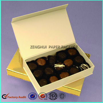 Custom Magnetic Chocolate Packaging Box Truffle