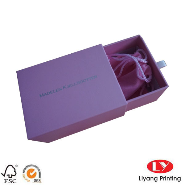 Jewelry Packaging Box Custom Logo with Drawer