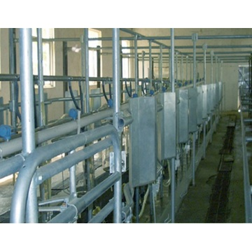 Arfimilk quick release milking parlor