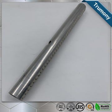 High Frequency Welding Aluminum Manifold Tube For Heatsink