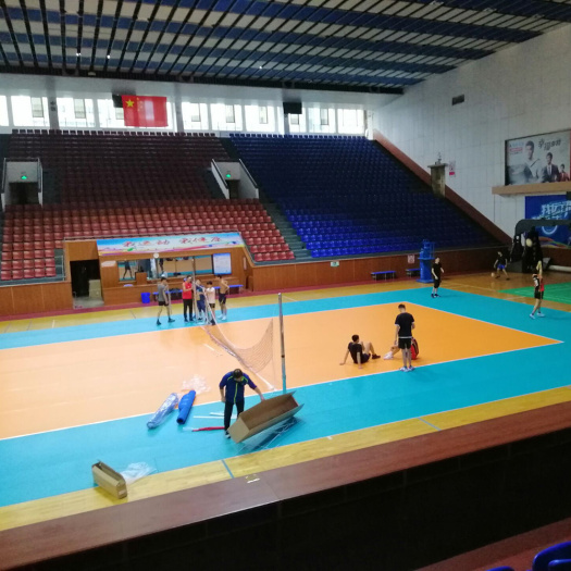 Indoor PVC Volleyball Sports flooring