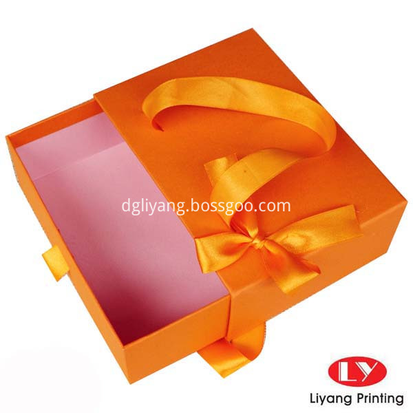 Sliding Drawer BoxLY17041020-Free-shipping-wholesale-12pcs-lot-17-12-5-8CM-Orange-Wedding-font-b-Gift-b-font