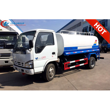 2019 Huge sale ISUZU 5000litres water tank truck