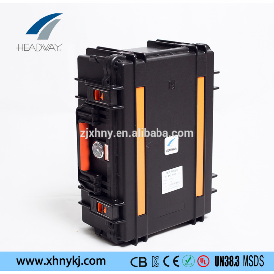 LiFePO4 lithium ion solar battery packs 48V 50Ah
