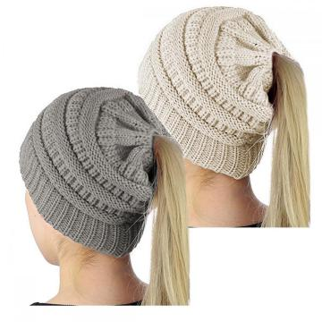 Women Knit Beanie Hat