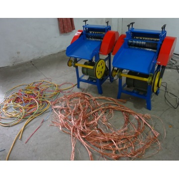 waste cable wire recycling machine