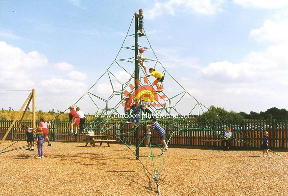 climbing activity net playground