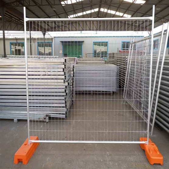 pvc coated temporary fence panel