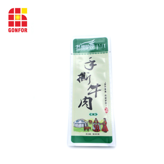 121degrees heat resistant retort pouch for meat packaging