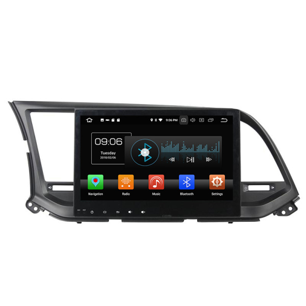 Android 8.0 car navigation with gps for Elantra