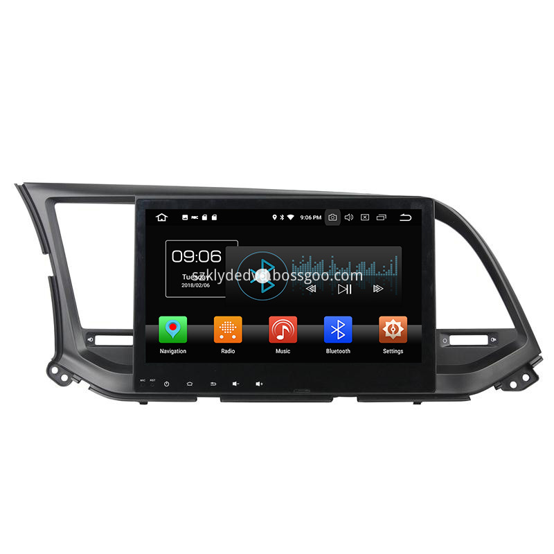 Android 8 0 Car Navigation Systems With Gps For 2016 Elantra 1