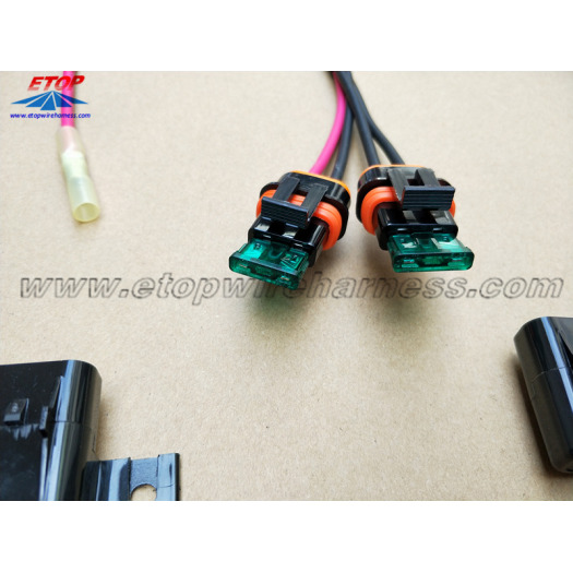 IP67 waterproof fuse box cable assembly