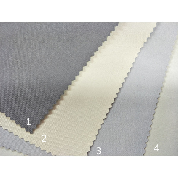 2019 100% Poly Full Blackout Window Curtain Fabric with FR