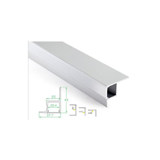 Rectangle Dimmable Linear Light