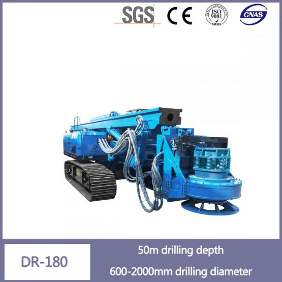 Stable Performance Hydraulic Rotary Pile Drilling Rig