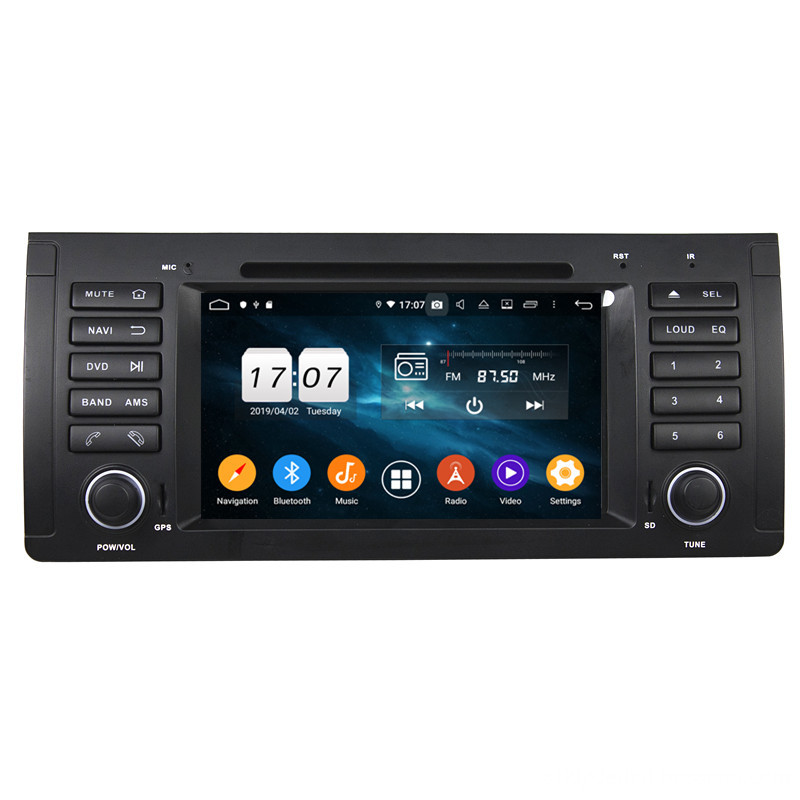 oem car multimedia player for E53