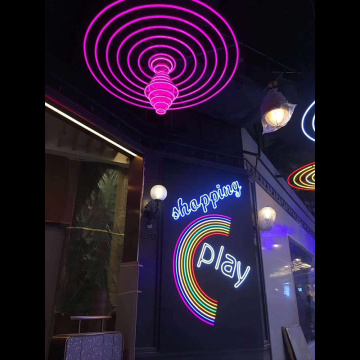 SHOPPING MALL DECORATION NEON SIGNS