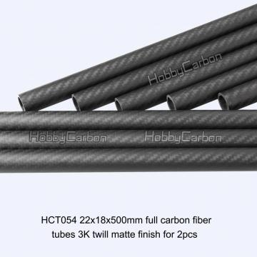 Straight Round Carbon Fiber Tube for Octocopter