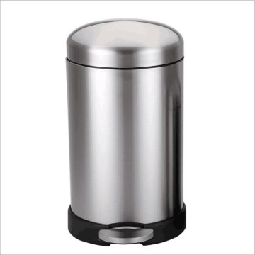 New Stylish 410 Stainless Steel Trash Can