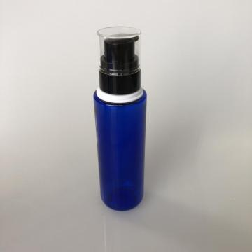round PET bottle with collar 120ml