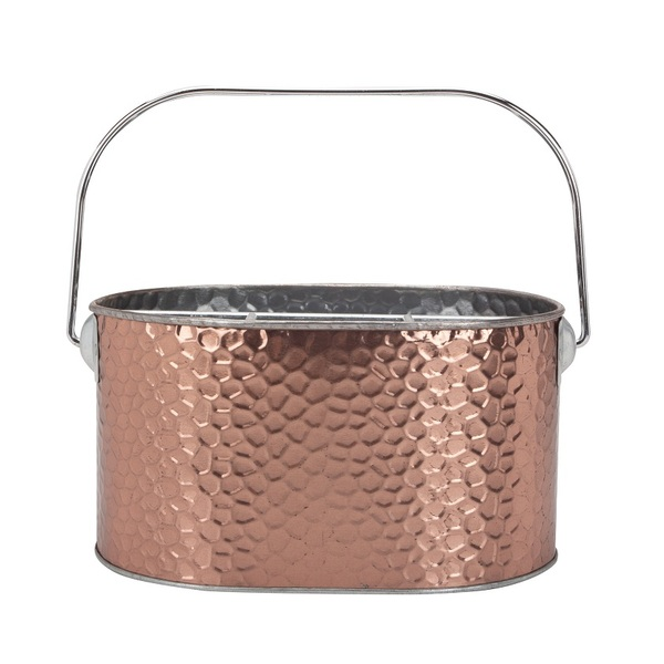 Golden Color Chrome Ice Bucket