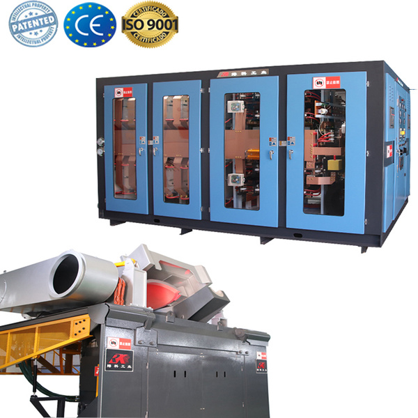 Copper smelting induction furnace melting oven