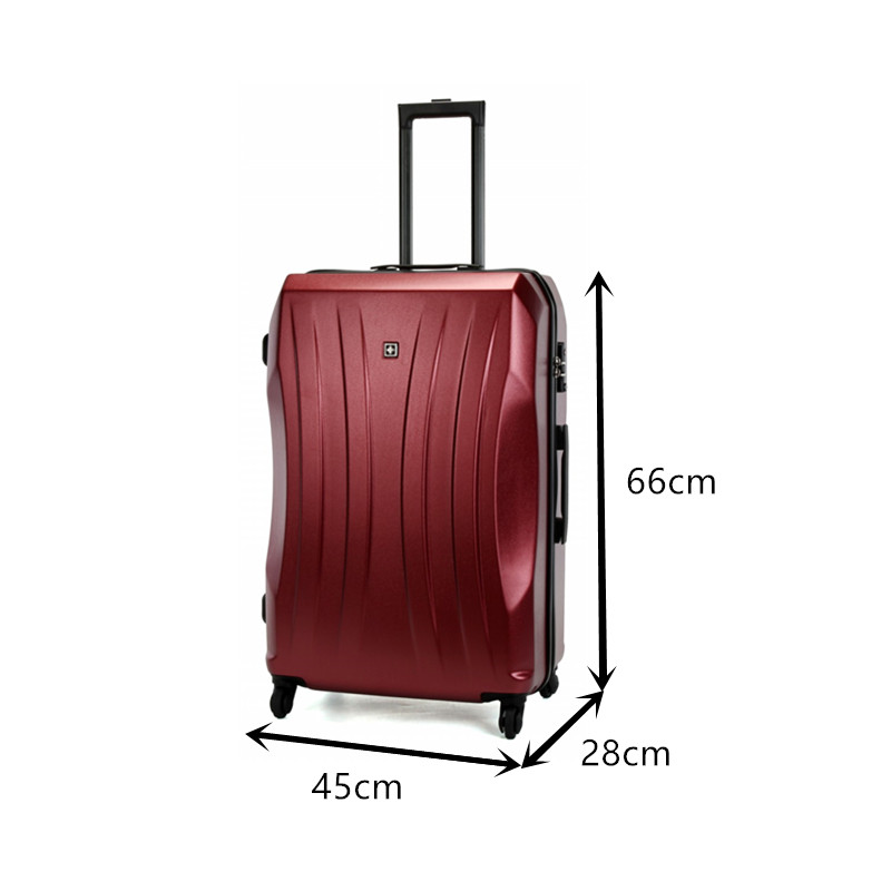 Lightweight PC+ABS Durable Suitcase
