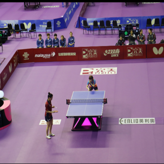 2018 Youth Olympic Games Table Tennis Floor