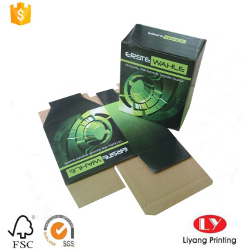 Custom Printed corrugated paper box with E-flute