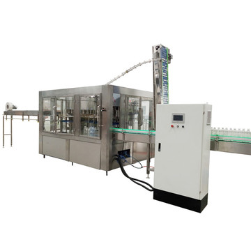 Automatic Sparkling Water Drinks Bottling Machine