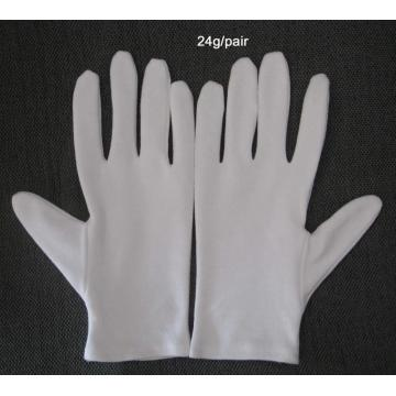Cotton Work Glove White Ddress Cloth