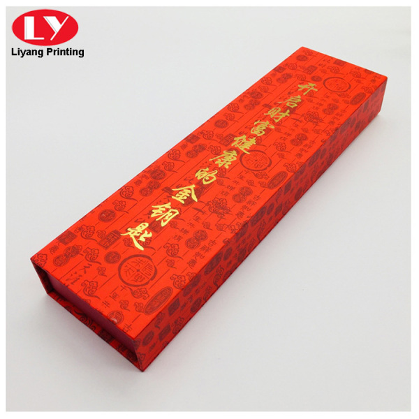 Red magnetic jewellery box