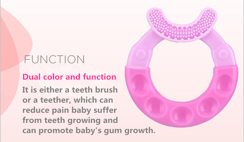 Infants Silicone Teether