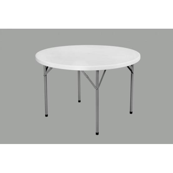 4FT Plastic Round Dining Table