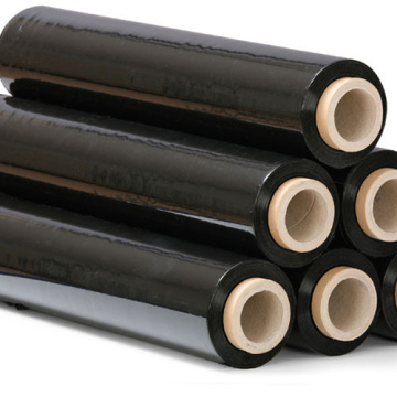 Good Quality Black Color LLDPE Stretch Film