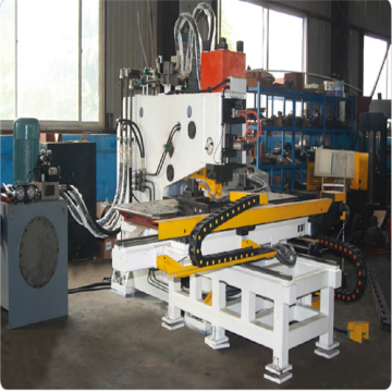 CNC Hydraulic Steel Plate Punching Marking Machine