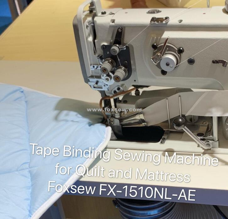 Heavy Duty Tape Binding Sewing Machine For Mattress And Quilts Fx 1510nl Ae 0000