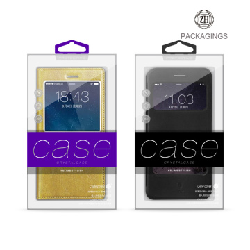 Customized plastic cell phone case box